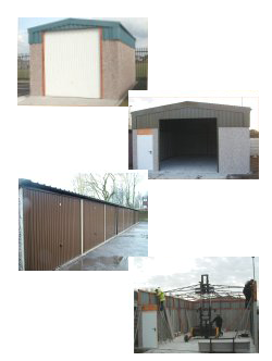 Prefabrictaed Commmercial Sectional Buildings